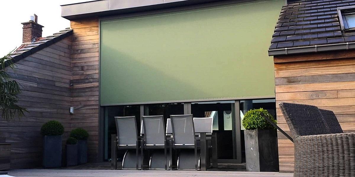 Zonwering windvaste screen Den Haag, Rijswijk, Voorburg, Ypenburg, Leidschendam, Wateringen