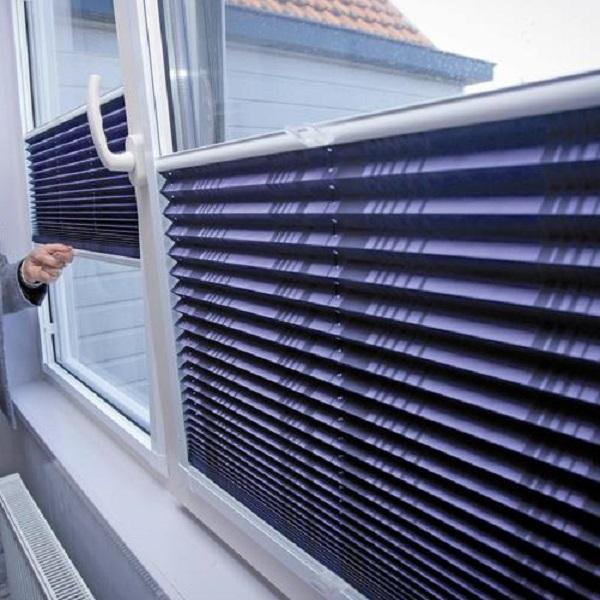 Perfect fit, plissé gordijn voor kunststof ramen, Den Haag, Leiden, Voorburg, Rijswijk, Wateringen
