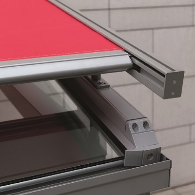 WAREMA serre zonwering met Secudrive® hoogwaardige aandrijvings techniek voor serre zonwering Den Haag, Rotterdam, Naaldwijk, Westland